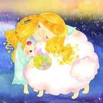 星の少女と ももいろ羊