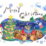 クリスマスカード2014