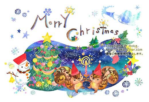Wishing Book クリスマスカード